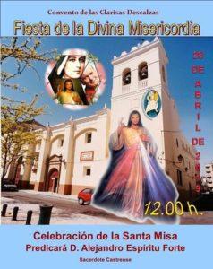 Fiesta de la Divina Misericordia (Convento de las Clarisas Descalzas -Badajoz-)