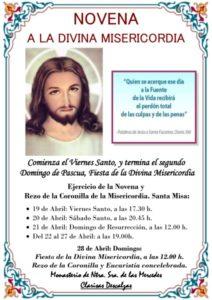 Novena Divina Misericordia (Templo convento de las Descalzas -Badajoz-)