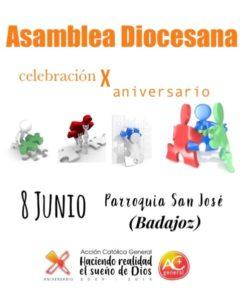 Asamblea diocesana Acción Católica General (Parroquia San José -Badajoz-)