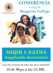 """Conferencia """"Mujer e Iglesia. Ampliando horizontes"""" (Casa de la Iglesia Ntra. Sra. de la Asunción -Villanueva de la Serena-)"""
