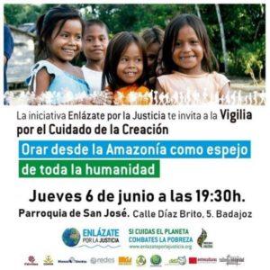 Vigilia de oración por el cuidado del planeta (Parroquia San José -Badajoz-)
