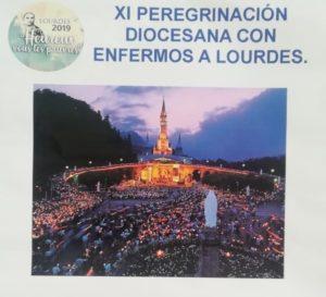 XI peregrinación diocesana con enfermos a Lourdes