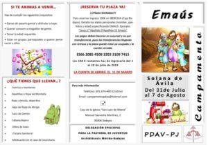 Campamento Emaús (Solana de Ávila)