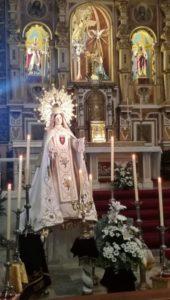 Triduo a Ntra. Sra. de las Mercedes (Parroquia San Andrés Apóstol -Badajoz-)