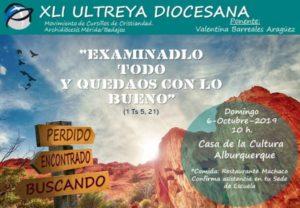 Ultreya diocesana Cursillos de Cristiandad (Casa de la Cultura -Alburquerque-)