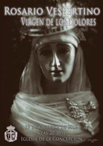 Rosario vespertino Virgen de los Dolores (Templo de la Concepción -Badajoz-)