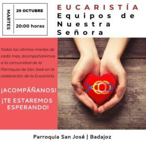 Eucaristía ENS (Parroquia San José -Badajoz-)
