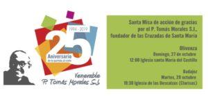Misa por el P. Tomás Morales s.j. (Iglesia de las Descalzas -Badajoz-)