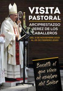 Visita pastoral a Jerez de los Caballeros