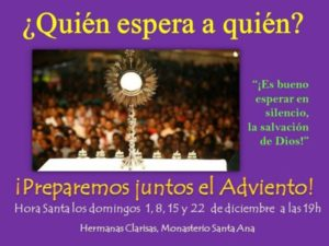 Hora Santa (Capilla monasterio Santa Ana -Badajoz-)