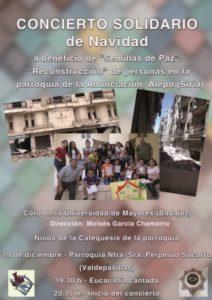 Concierto solidario (Parroquia Perpetuo Socorro -Badajoz-)