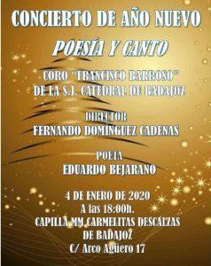 Concierto de año nuevo (Capilla Carmelitas Descalzas -Badajoz-)