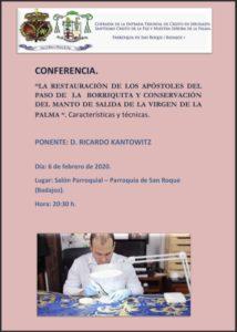 Conferencia Cofradía San Roque (Parroquia de San Roque -Badajoz-)