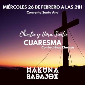 Hora Santa (Templo Monasterio Santa Ana -Badajoz-)