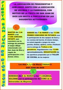 Gymkhana infantil (Parroquia San Juan de Dios -Badajoz-)