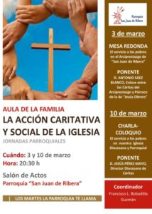 Jornadas parroquiales (Parroquia San Juan de Ribera -Badajoz-)