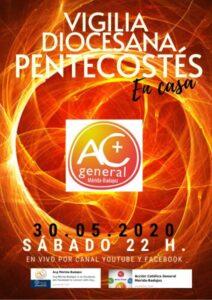 Vigilia virtual de Pentecostés