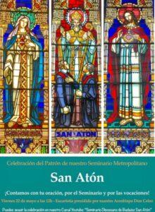 Eucaristía San Atón (Capilla Seminario diocesano)