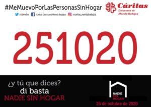 Carrera solidaria por las Personas Sin Hogar (virtual)