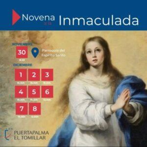 Novena Inmaculada (Parroquia Espíritu Santo -Badajoz-)