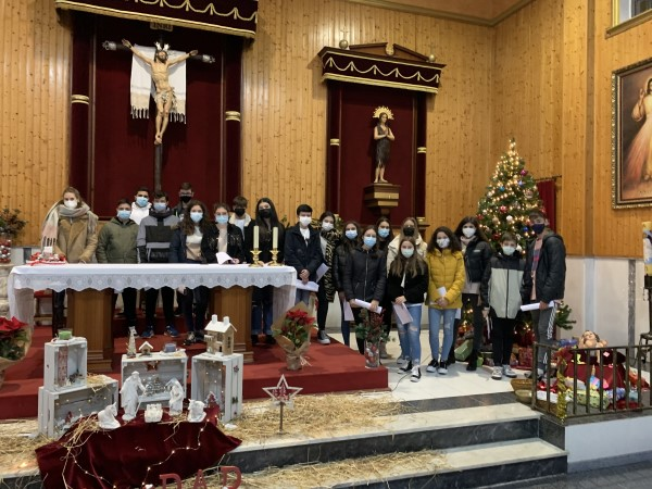 Jóvenes Iglesia mascarilla