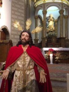 Conferencia sobre restauración Ntro. Padre Jesús de la Humildad (Templo de la Concepción -Badajoz-)
