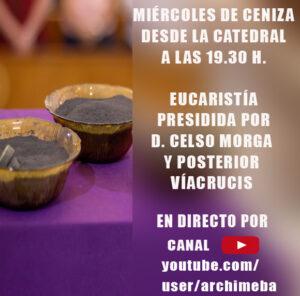 Miércoles de Ceniza y viacrucis (Catedral de Badajoz)