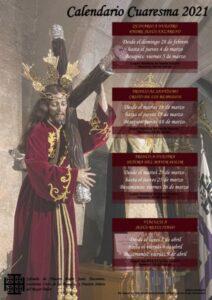 Triduo al Cristo de los Remedios (Basílica Santa Eulalia -Mérida-)