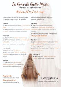 Virgen peregrina de Radio María (Badajoz)