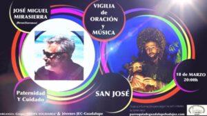 Vigilia de oración y música a san José (Parroquia Ntra. Sra. Guadalupe -Badajoz-)