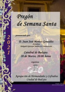 Pregón Semana Santa Badajoz (Catedral de Badajoz)