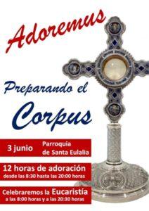 12 horas de adoración (Parroquia Santa Eulalia -Badajoz-)
