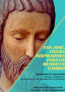 """Conferencia """"San José: figura inspiradora para un mundo en cambio"""" (Parroquia San José -Badajoz-)"""