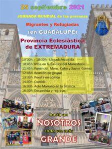 Encuentro interdiocesano Jornada Mundial del Migrante y del Refugiado (Guadalupe)