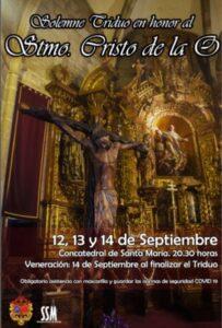 Triduo Cristo de la O (Concatedral de Mérida)