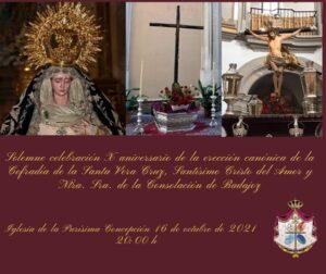 Aniversario Cofradía de la Veracruz (Iglesia Purísima Concepción -Badajoz-)